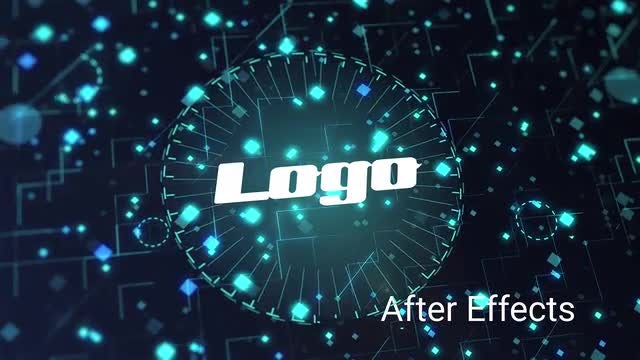 Technical Logo Reveal: After Effects Templates