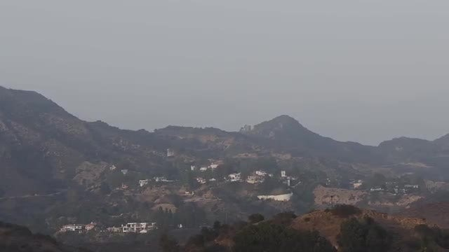 Hollywood Hills: Stock Video