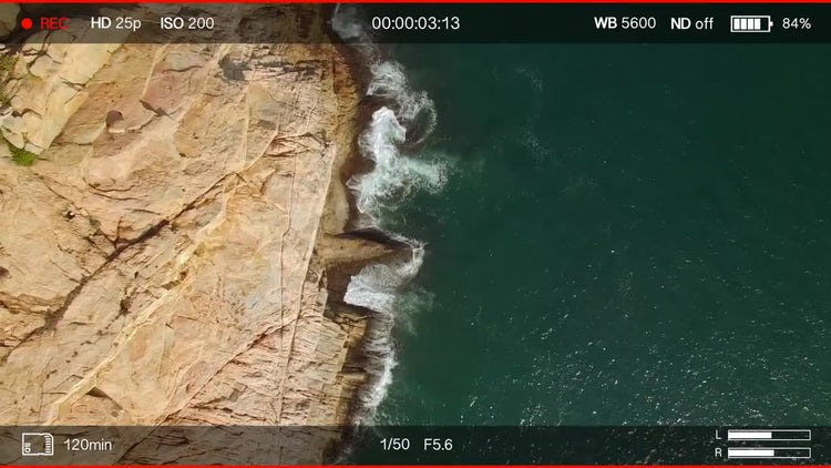 Video Camera Recording Indicator Overlay - Stock Motion Graphics