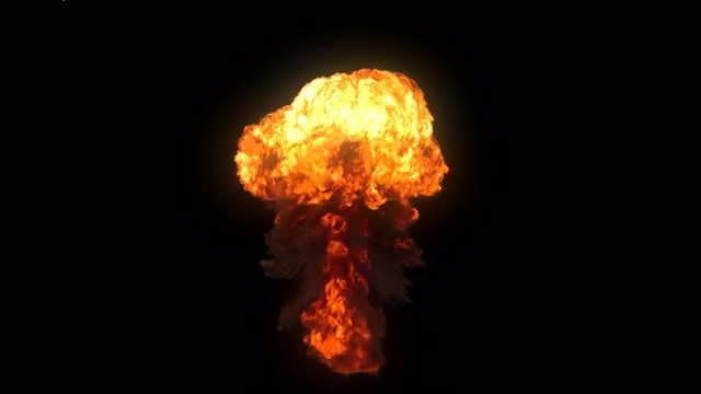 Realistic Explosion 2: Stock Motion Graphics