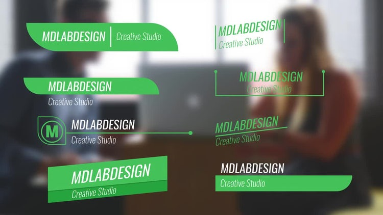 Clean Corporate Lower Thirds: After Effects Templates