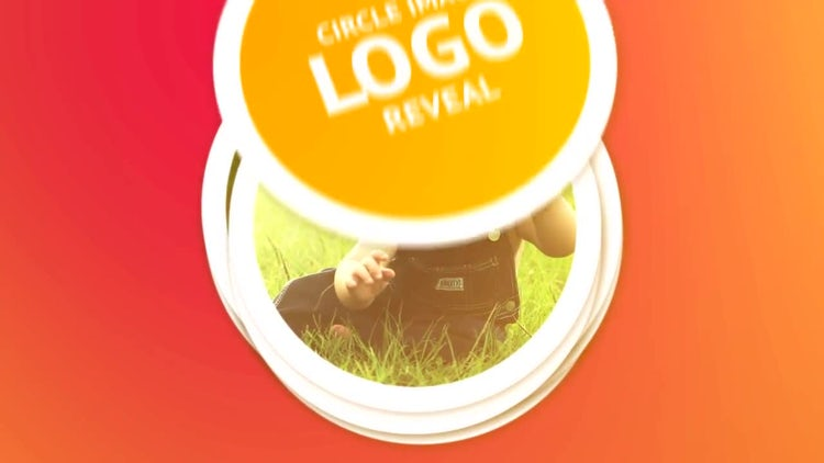 Circle Image Logo Reveal: After Effects Templates
