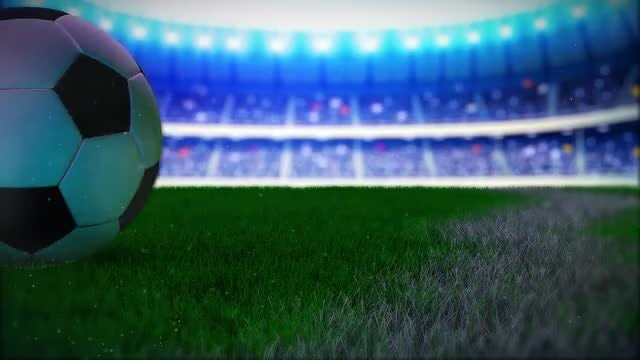 Soccer Ball Logo: After Effects Templates