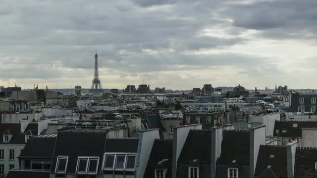 Time Lapse Of Paris: Stock Video