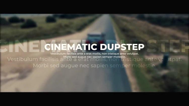 Cinematic Dupstep Slideshow: Premiere Pro Templates