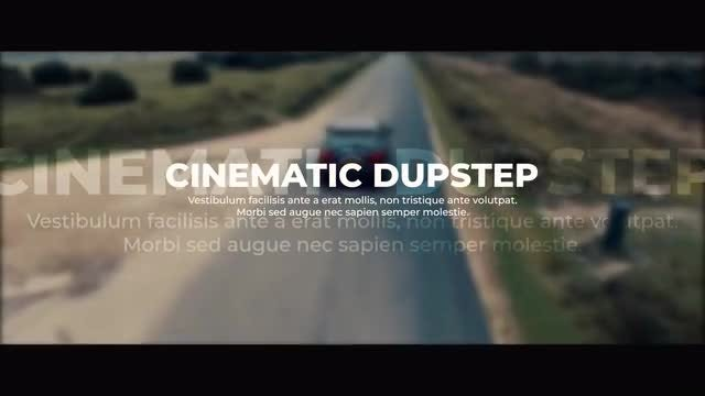 Cinematic Dupstep Slideshow: Premiere Pro Templates