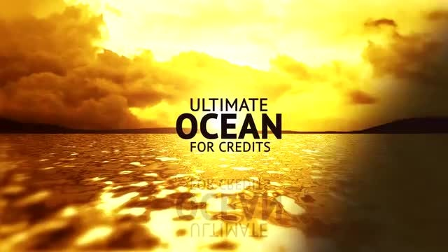 Ultimate Ocean for Credits: After Effects Templates