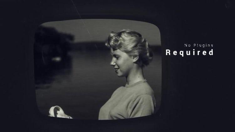 Vintage TV Slideshow: After Effects Templates