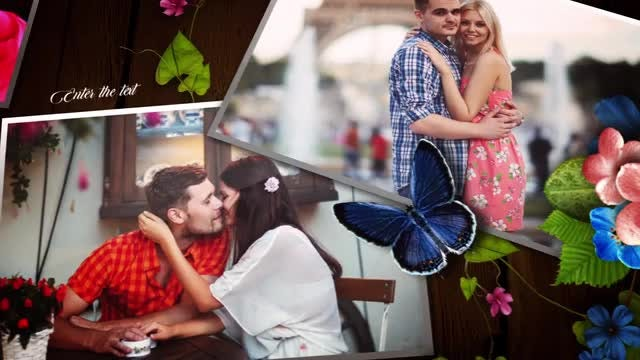 Love Story Photos: After Effects Templates