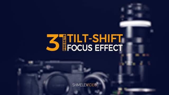 Tilt-Shift Effect Presets: Premiere Pro Presets