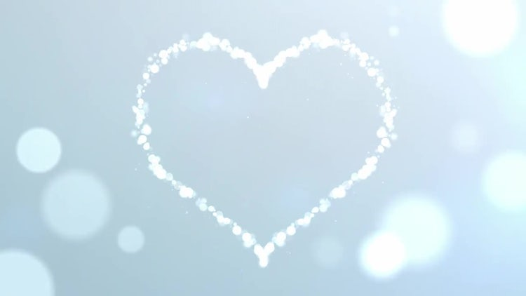 Particle Heart: Stock Motion Graphics