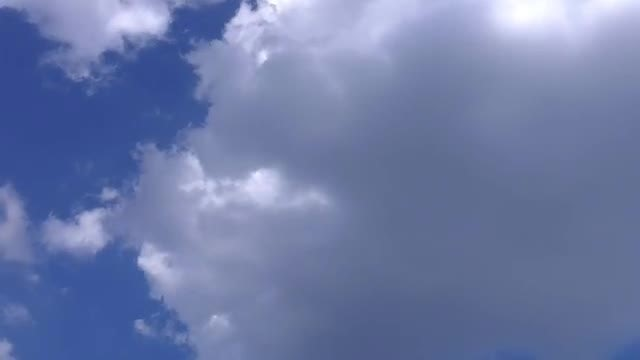 Time Lapse Of Rain Clouds: Stock Video