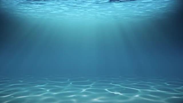 Underwater Refraction Background: Stock Motion Graphics