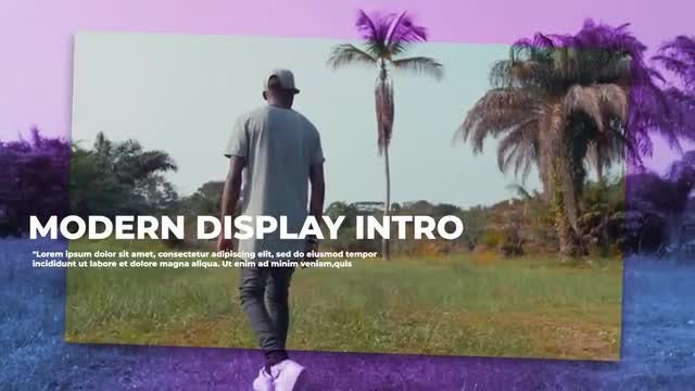 Display Cinematic Promo: Premiere Pro Templates