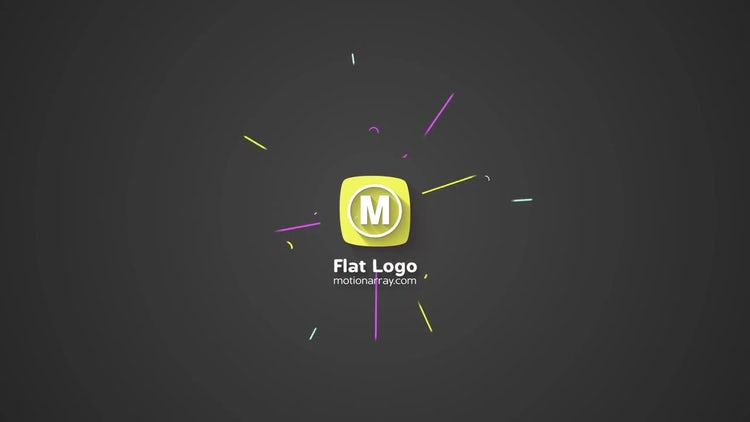 Flat Logo: After Effects Templates
