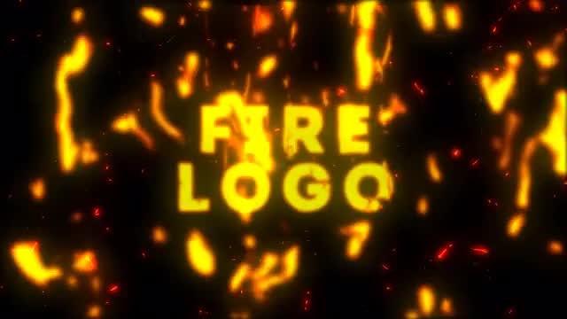 Cartoon Fire Logo: After Effects Templates
