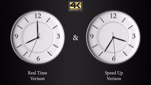 Regular And Speedy Clock Pack (4K): Stock Motion Graphics