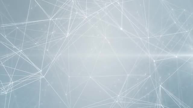 Clean Bright Network Background: Stock Motion Graphics