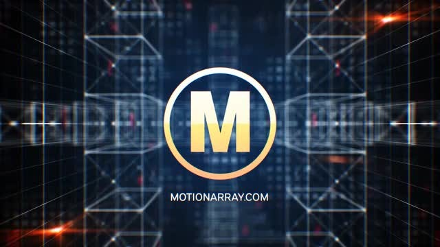 Tech Construction 3D Logo: After Effects Templates