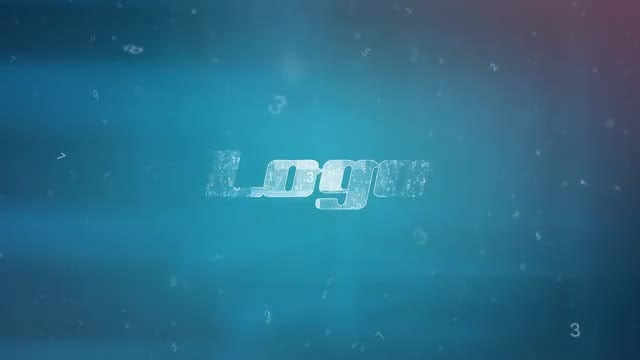 Logo - Numbers Reveal: After Effects Templates