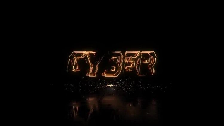 Glitch Cyberpunk Logo: After Effects Templates
