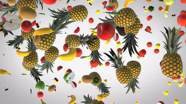 4K Fresh Food: Stock Motion Graphics