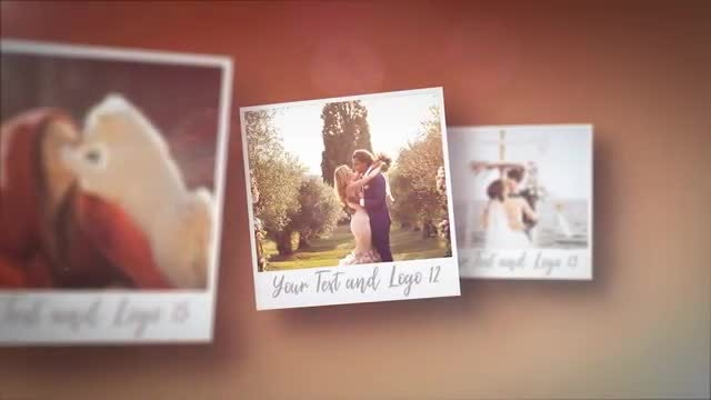 Polaroid Romantic Slideshow: After Effects Templates