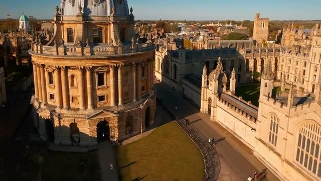 Oxford University Revealed: Stock Video