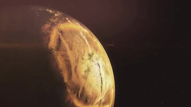 The Planet Mars Closeup: Stock Motion Graphics