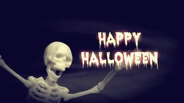 Skeleton Dance Party: After Effects Templates
