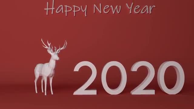 New Year 2019 To 2021: Stock Motion Graphics