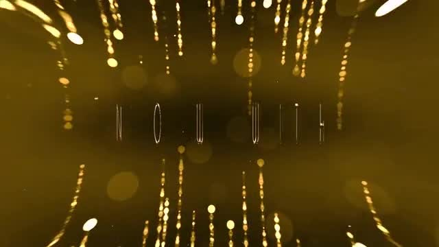 Glitter Titles: After Effects Templates