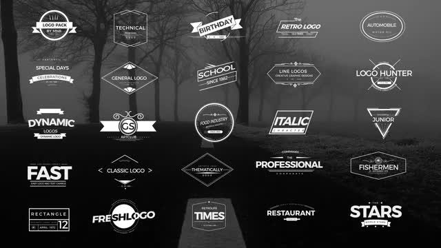 Logo Pack V1: After Effects Templates