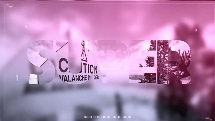Stomp Slide: After Effects Templates