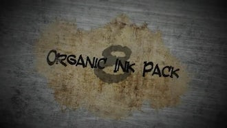Organic Ink Pack: Motion Graphics