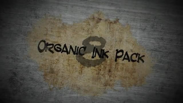 Organic Ink Pack: Stock Motion Graphics