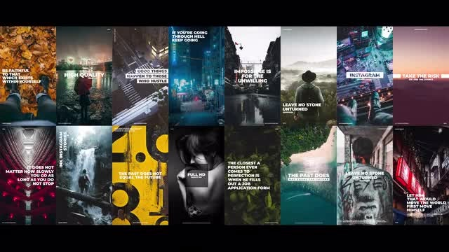 Ink Instagram Stories: Premiere Pro Templates