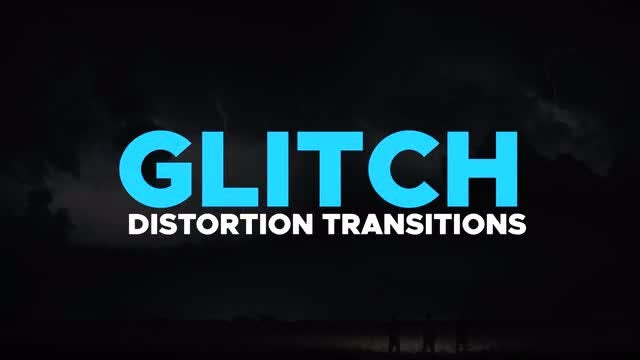 Glitch Distortion Transitions: Premiere Pro Templates