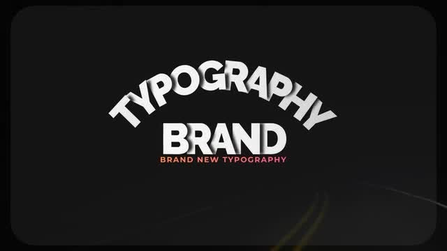 Big Typo - Style 1: Motion Graphics Templates