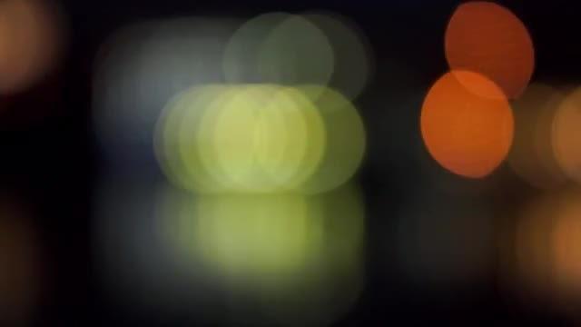 Defocused Background: Stock Video