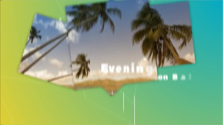 Summer Fast Slides: After Effects Templates