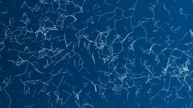 Plexus Background 4K / Tiny Particles: Stock Motion Graphics