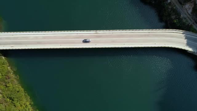 Vehicles Driving On the Bridge: Stock Video