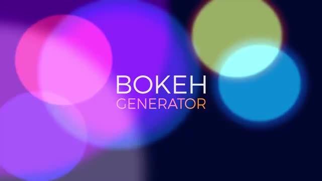 Bokeh Light Generator V1: Premiere Pro Presets