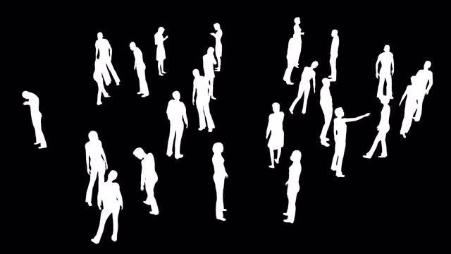 Human Population Pack: Stock Motion Graphics