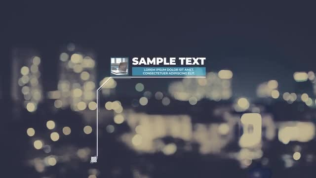 Unique Call Out Titles: After Effects Templates