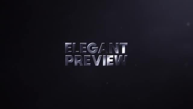 Text Logo Reveal: After Effects Templates