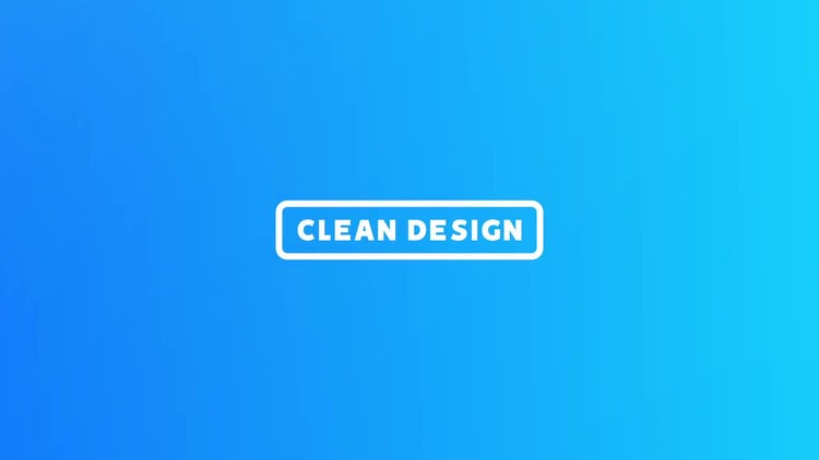 Clean Design Slideshow: After Effects Templates