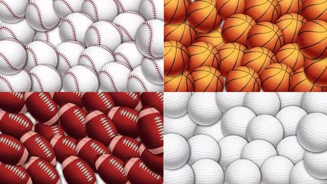 Sport Balls Transition Pack: Stock Motion Graphics