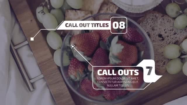 Call Out Titles 4K: Motion Graphics Templates